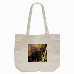 Into Woodlands Tote Bag (cream) by bloomingvinedesign