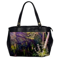 Into Woodlands Oversize Office Handbag by bloomingvinedesign