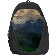 Mountains Near West Backpack Bag by bloomingvinedesign