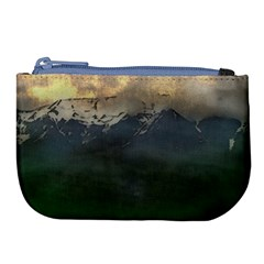 Mountains Near West Large Coin Purse by bloomingvinedesign