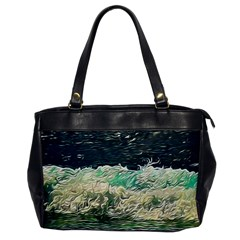 Ocean Wave Close To Shore Oversize Office Handbag by bloomingvinedesign