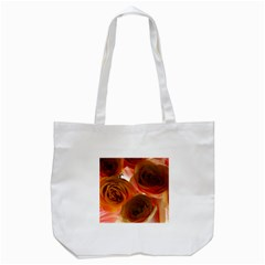 Orange Roses Tote Bag (white) by bloomingvinedesign