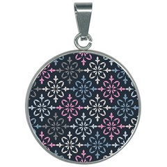 Background Wallpaper Abstract Art 30mm Round Necklace