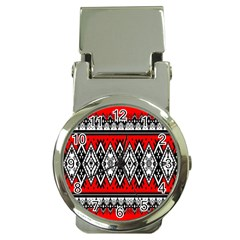 Decoration Pattern Style Retro Money Clip Watches