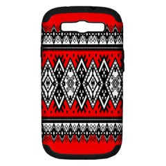 Decoration Pattern Style Retro Samsung Galaxy S Iii Hardshell Case (pc+silicone) by Nexatart
