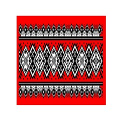 Decoration Pattern Style Retro Small Satin Scarf (square) by Nexatart