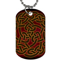 Beautiful Art Pattern Dog Tag (two Sides)