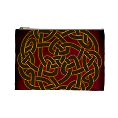 Beautiful Art Pattern Cosmetic Bag (large)