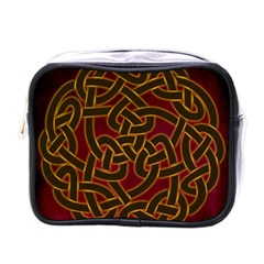 Beautiful Art Pattern Mini Toiletries Bag (one Side)