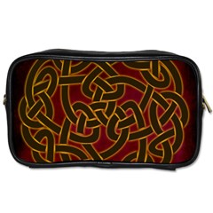 Beautiful Art Pattern Toiletries Bag (one Side)