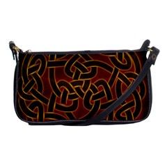 Beautiful Art Pattern Shoulder Clutch Bag