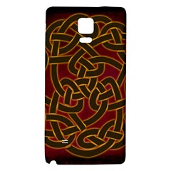 Beautiful Art Pattern Samsung Note 4 Hardshell Back Case