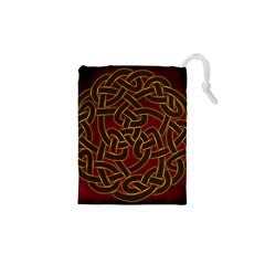 Beautiful Art Pattern Drawstring Pouch (xs)