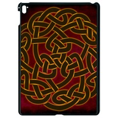 Beautiful Art Pattern Apple Ipad Pro 9 7   Black Seamless Case