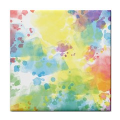 Abstract Pattern Color Art Texture Tile Coasters