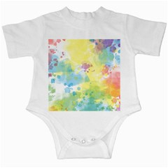 Abstract Pattern Color Art Texture Infant Creepers