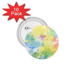 Abstract Pattern Color Art Texture 1 75  Buttons (10 Pack)