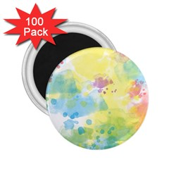 Abstract Pattern Color Art Texture 2 25  Magnets (100 Pack)