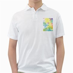 Abstract Pattern Color Art Texture Golf Shirt