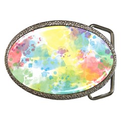 Abstract Pattern Color Art Texture Belt Buckles