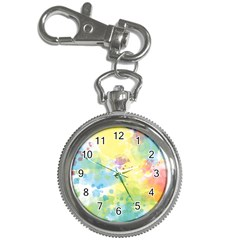 Abstract Pattern Color Art Texture Key Chain Watches