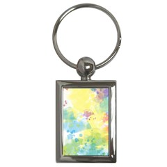 Abstract Pattern Color Art Texture Key Chains (rectangle)