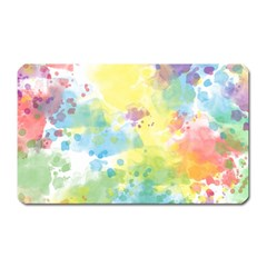 Abstract Pattern Color Art Texture Magnet (rectangular)