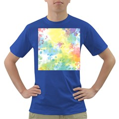 Abstract Pattern Color Art Texture Dark T Shirt
