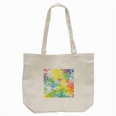Abstract Pattern Color Art Texture Tote Bag (cream)