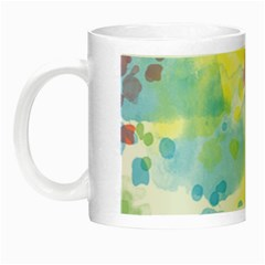 Abstract Pattern Color Art Texture Night Luminous Mugs
