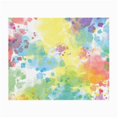 Abstract Pattern Color Art Texture Small Glasses Cloth