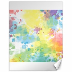Abstract Pattern Color Art Texture Canvas 12  X 16