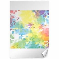 Abstract Pattern Color Art Texture Canvas 12  X 18