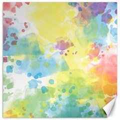 Abstract Pattern Color Art Texture Canvas 16  X 16