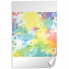 Abstract Pattern Color Art Texture Canvas 24  X 36