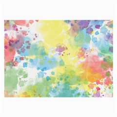 Abstract Pattern Color Art Texture Large Glasses Cloth (2 Side)