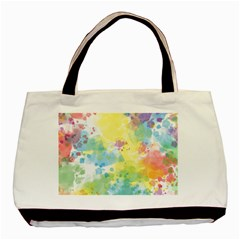 Abstract Pattern Color Art Texture Basic Tote Bag (two Sides)