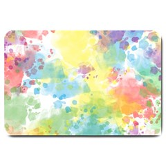 Abstract Pattern Color Art Texture Large Doormat