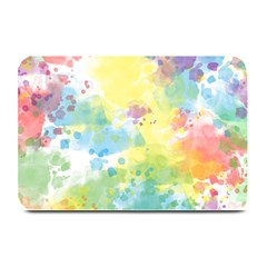 Abstract Pattern Color Art Texture Plate Mats