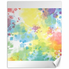 Abstract Pattern Color Art Texture Canvas 11  X 14