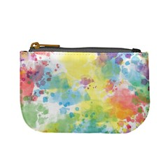 Abstract Pattern Color Art Texture Mini Coin Purse