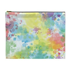 Abstract Pattern Color Art Texture Cosmetic Bag (xl)
