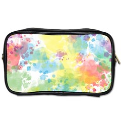 Abstract Pattern Color Art Texture Toiletries Bag (two Sides)
