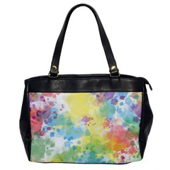 Abstract Pattern Color Art Texture Oversize Office Handbag