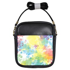 Abstract Pattern Color Art Texture Girls Sling Bag