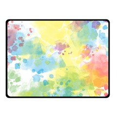Abstract Pattern Color Art Texture Fleece Blanket (small)