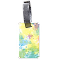 Abstract Pattern Color Art Texture Luggage Tags (one Side)