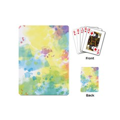 Abstract Pattern Color Art Texture Playing Cards (mini)