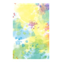 Abstract Pattern Color Art Texture Shower Curtain 48  X 72  (small)