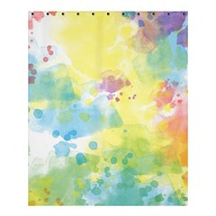 Abstract Pattern Color Art Texture Shower Curtain 60  X 72  (medium)